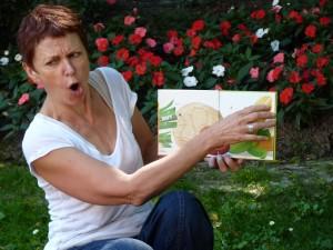 Lecture de Grosse Légume avec Lis avec moi pour le lancement © Perluette