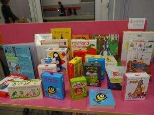 Jeux en lien avec des livres jeunesses, Centre Social Le Nautilus, Roubaix 26 novembre